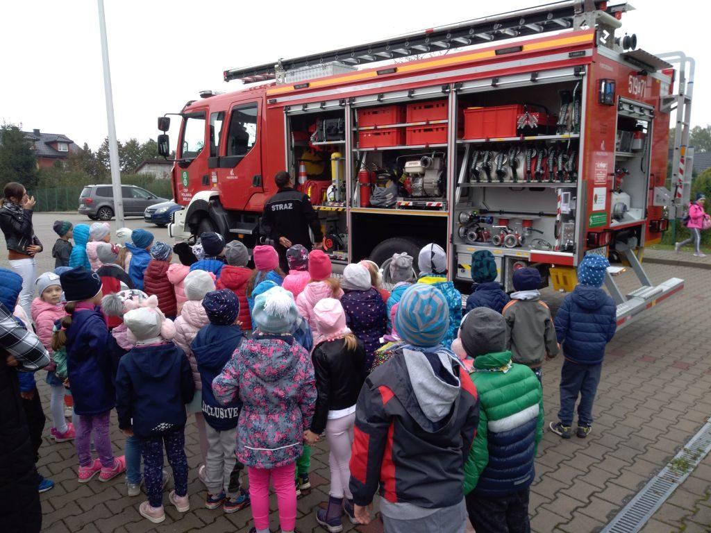 Wizyta Strażaków OSP Polanka Wielka