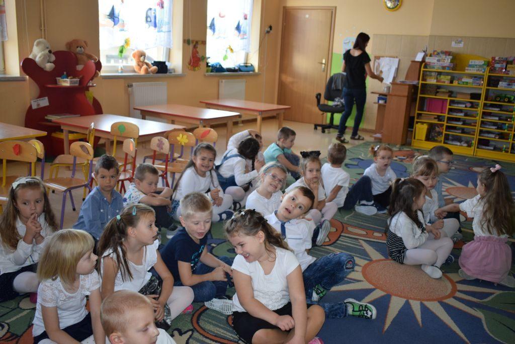 Pasowanie na Przedszkolaka w grupie V