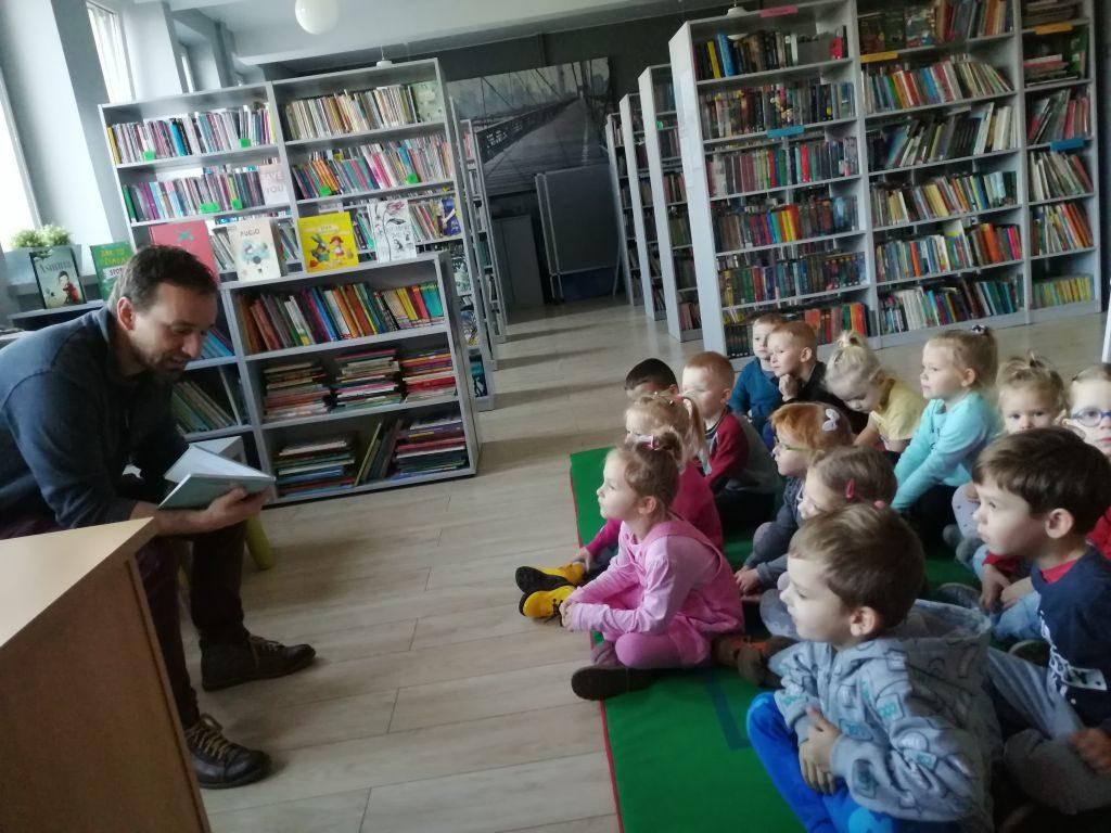 Wizyta w Gminnej Bibliotece Publicznej gr. II