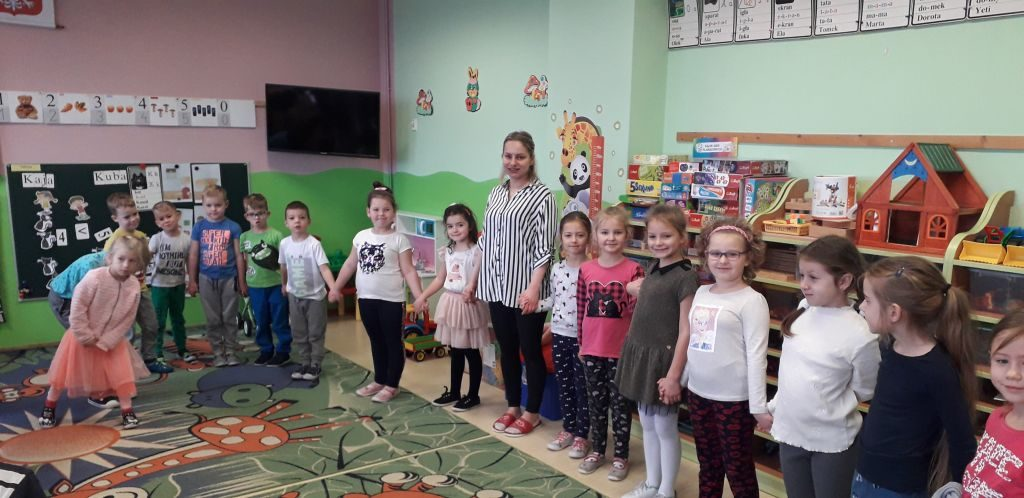Wizyta uczniów I klasy w grupie VI