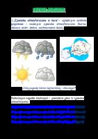 Letnia pogoda- zajęcia zdalne