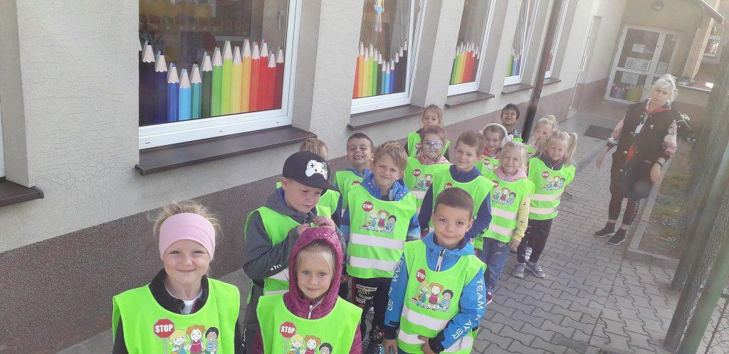 Przedszkolak bezpieczny na drodze - Grupa VII