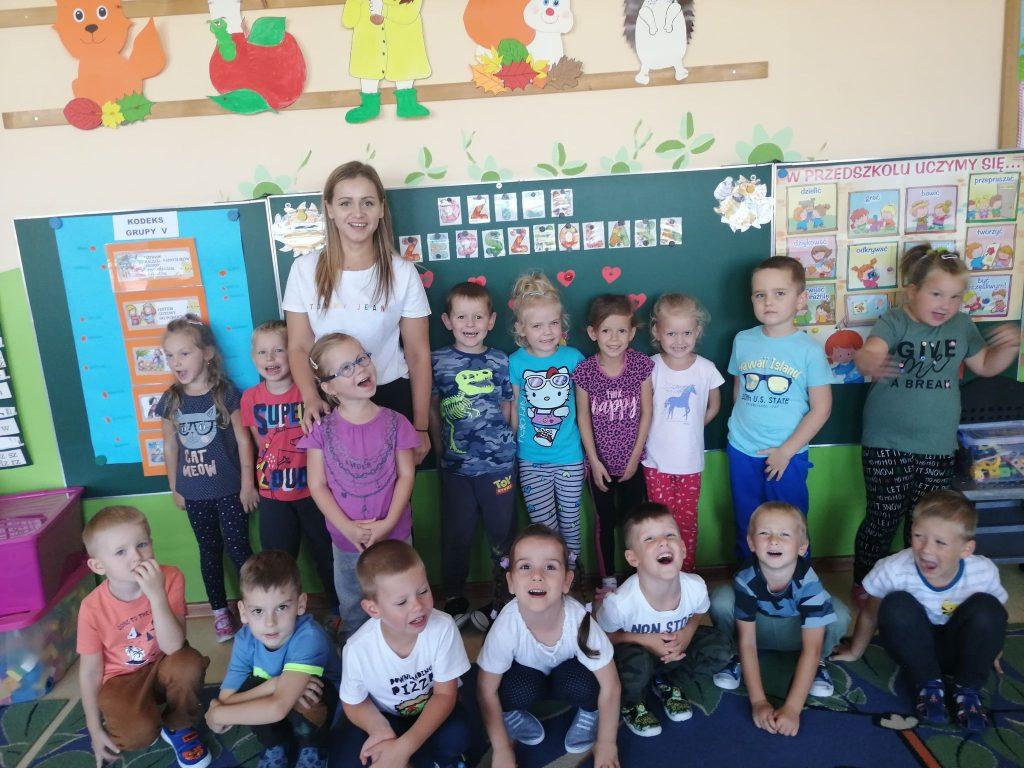 Dzień Przedszkolaka w grupie V Niebieskiej