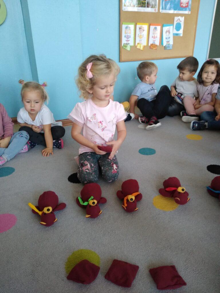 Dzień Pluszowego Misia w grupie Czerwonej
