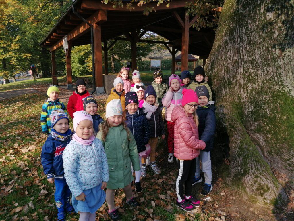 Jesienna wyprawa do parku grupy V