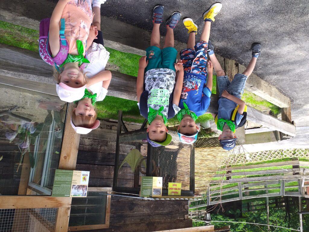 Wycieczka do Mini Zoo w Inwałdzie grupy II i IV